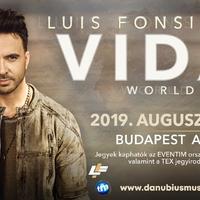 Budapesten koncertezik Luis Fonsi