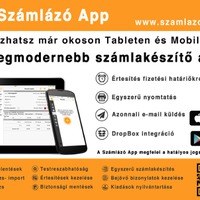Számlázó App iPhone-on is