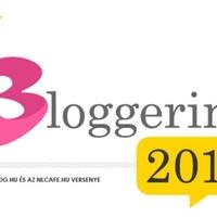 Az év bloggerinája...