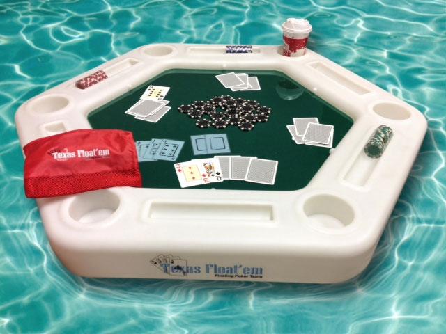 floating poker asztal