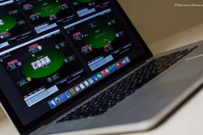 laptop online poker