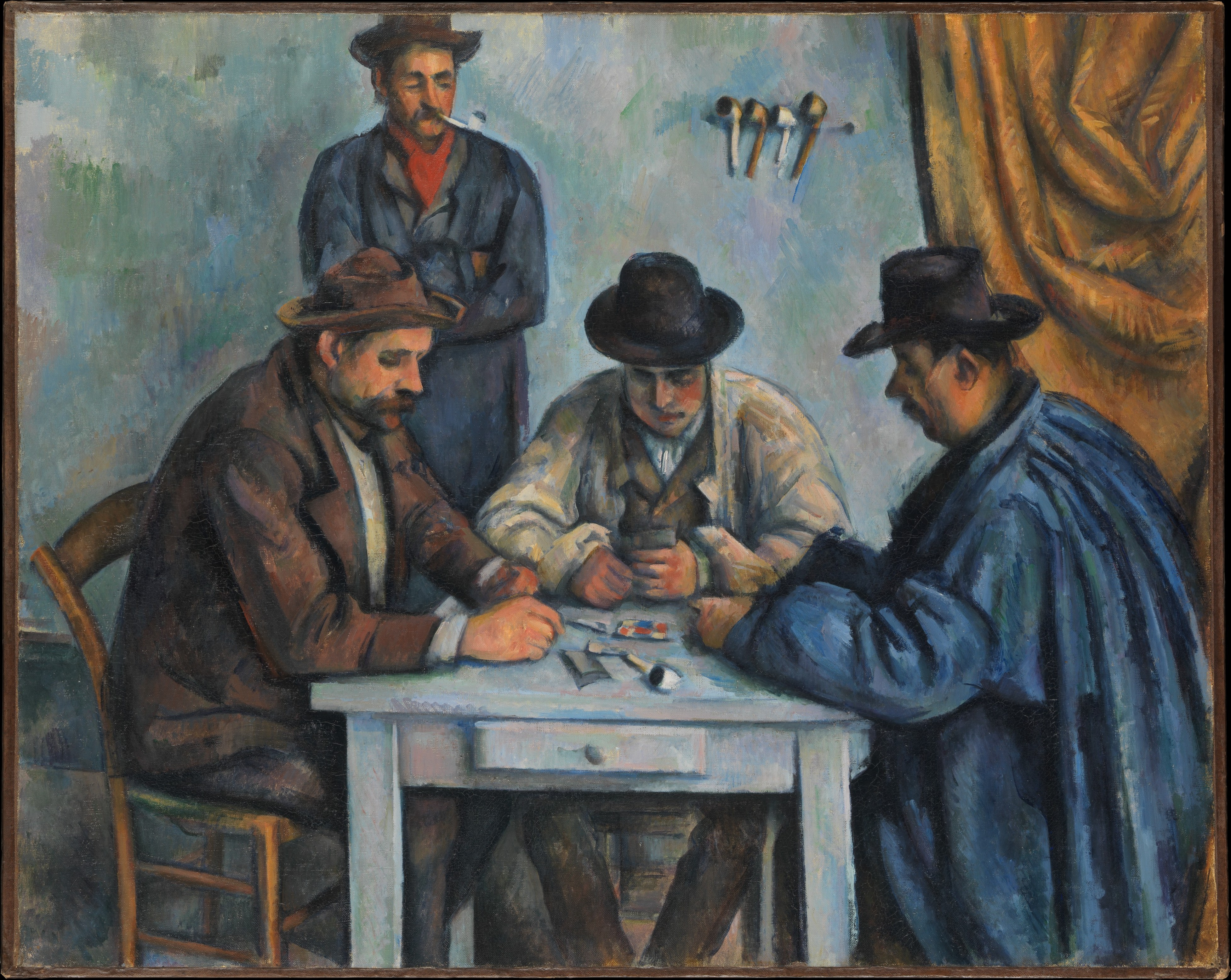 paul cezanne kartyaparti
