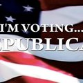 I am voting Republican