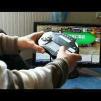 Vezeték nélküli online poker irányító egység