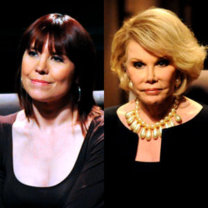 Annie Duke és Joan Rivers