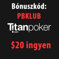 Titan Poker $20 ingyen póker pénz