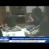Dél-Koreai buddhista szerzetesek illegális pókerpartija