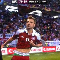Bendtner mágikus alsógatyája