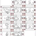 Polármackó kártya (kör)