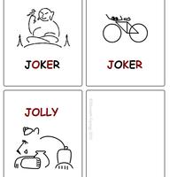 Polármackó kártya (Jolly Joker)