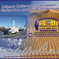 Kellemes ünnepeket kíván a Polgárőrök Bamakoba! - a Polgárőrség Szentendre csapata