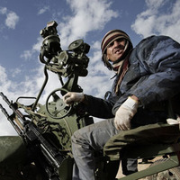 Líbia civil gerillák