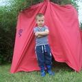 Indián sátor készítés - szerepjátékok