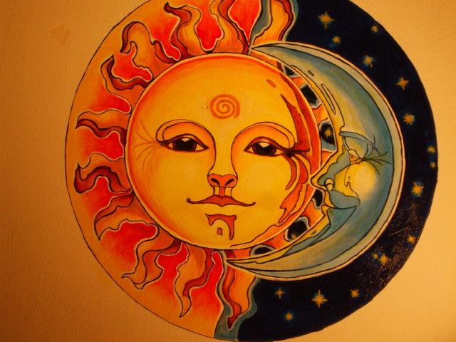 A Nap és a Hold találkozása