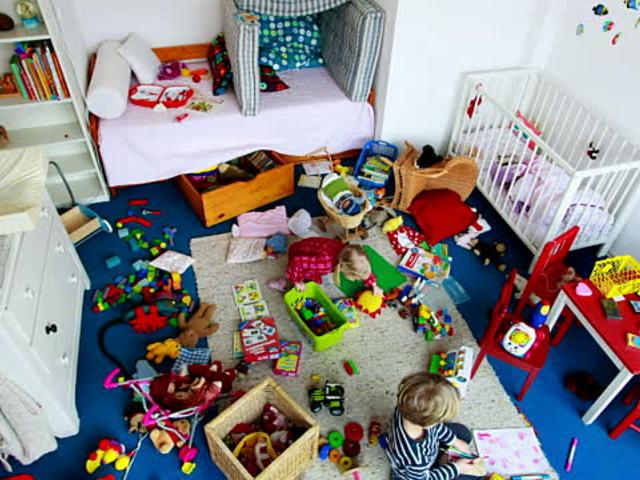 5 tipp - Hogyan tanítsuk meg gyerekeinket rendet tartani a gyerekszobában