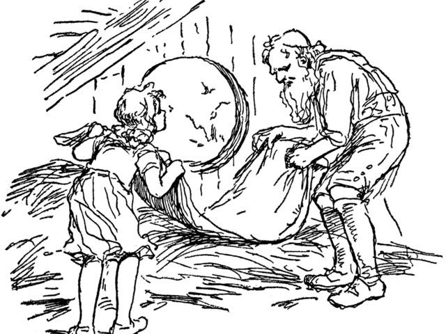 Az öregember és a pokróc