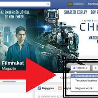 Facebook beállítása: értesítés oldalak friss bejegyzéseiről