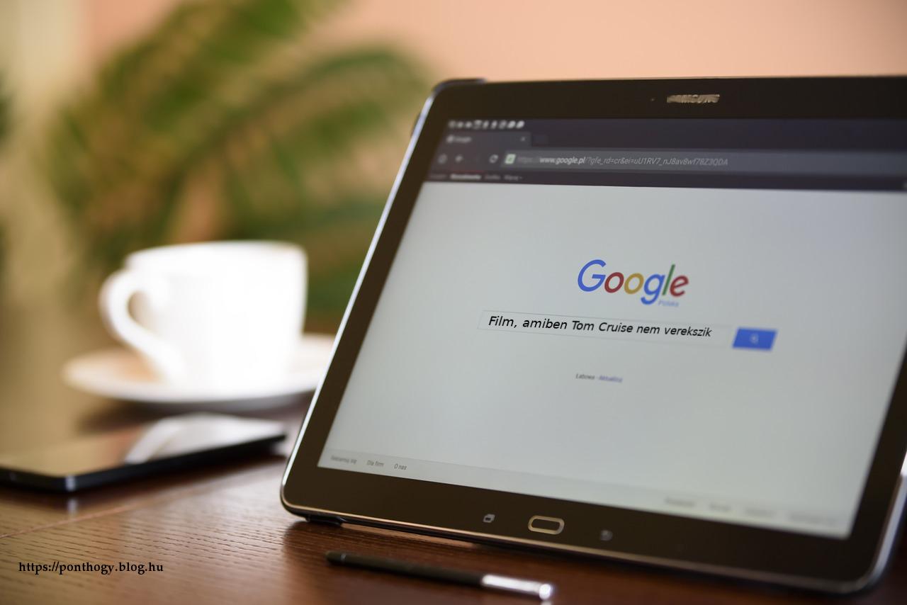Filmkereső programok - Google