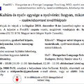 Kultúra és nyelv egysége a nyelvórán - szakmódszertani továbbképzés