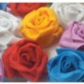 Gyönyörű rózsák egy kis anyagdarabból, percek alatt!