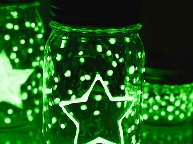 Csodálatos világító üveg saját kezűleg