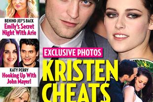 Kristen Stewart megcsalta vámpírfiúját