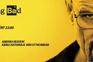 Május 7-től a teljes Breaking Bad sorozatot vetíti az AMC