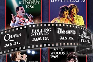 Rock klasszikusok - Koncertfilm-válogatás az Urániában