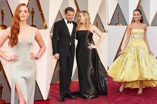 Ilyen ruhában mentek a sztárok az Oscarra