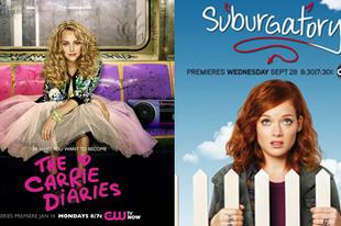 Sorozat premierek a Visat3-on - Carrie naplója (The Carrie Diaries), Kertvárosba száműzve (Suburgatory)
