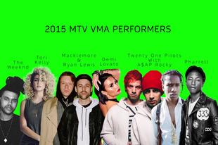 A 2015-ös VMA fellépői - Kanye West életműdíjat kap