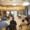 A Poptanítás-munkacsoport első workshopjának képei
