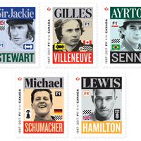 Jönnek a Formula 1 bélyegek!