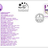 130 évesek a lila-fehérek