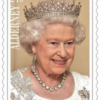 II. Erzsébet – uralkodói rekord bélyegen is