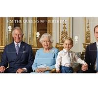 Bélyegen a brit királyi család