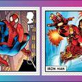 Így ünnepli a Royal Mail a Marvel 80. évfordulóját
