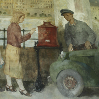 Értékes festményt rejt a posta!