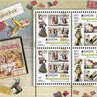 Keresik Európa legszebb régi játékos bélyegét