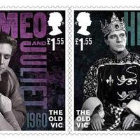A Royal Mail bélyegekkel köszönti a 200 éves Old Vic Színházat