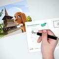Négy ok, amiért érdemes az idén a gyerekre bízni a képeslapírást