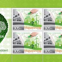 Környezettudatosságra buzdít az idei EUROPA bélyeg