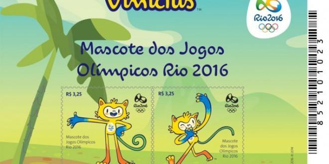 Brazília - Az idei olimpiai játékok hivatalos kabalái sem hiányozhattak a bélyegekről