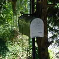 U.S.Mail zöld reflexiókkal