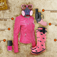 PINK BUNNY BABY Survival Kit