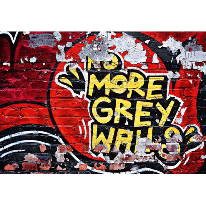 Graffiti poszter akár gyerekszobába is<br /><br />http://www.oriasposzter.hu/home/126-no-more-grey-walls.html