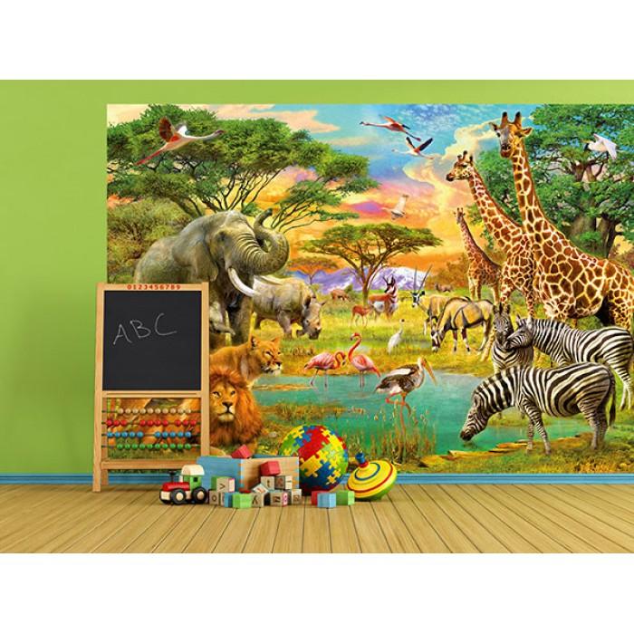 Gyerekszoba poszter - állatos<br /><br />http://www.oriasposzter.hu/home/154-african-animals.html