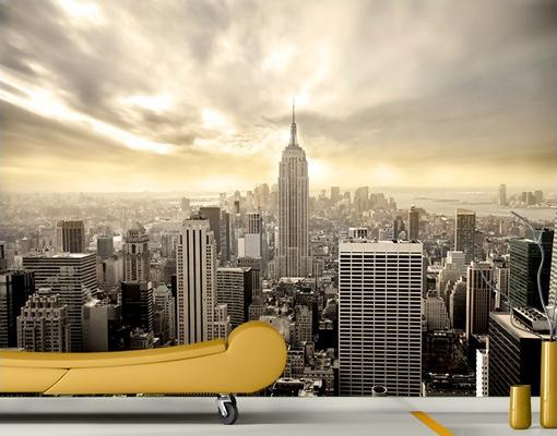 Tündöklő Manhattan - New York felülről