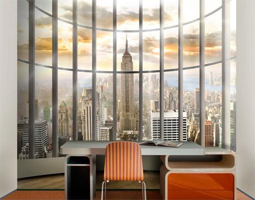 New York iroda - térhatású poszter tapéta