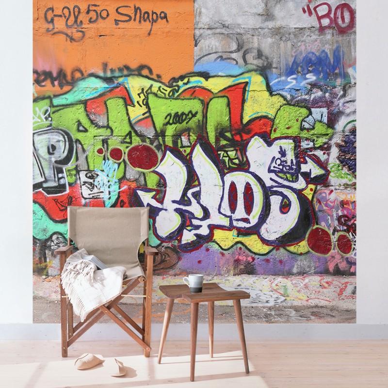 Graffiti poszter tapéta